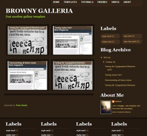 Browny Galleria