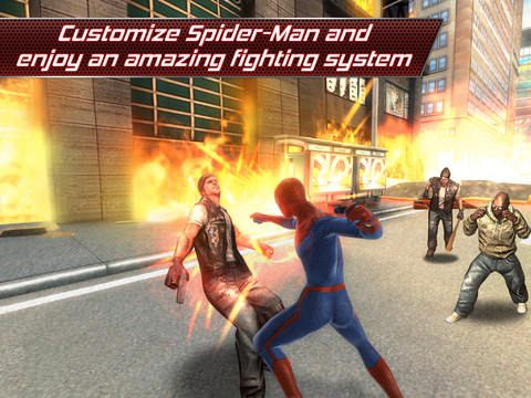 amazing spiderman for iPad