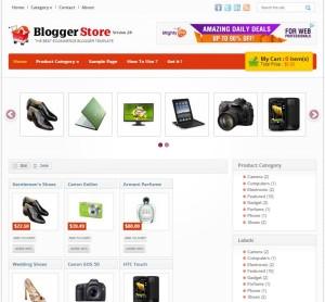 blogger store v2