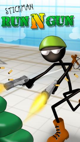 stickman run 'n gun