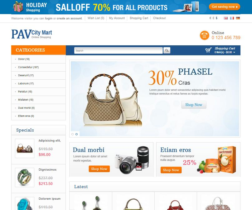 PavCity Mart