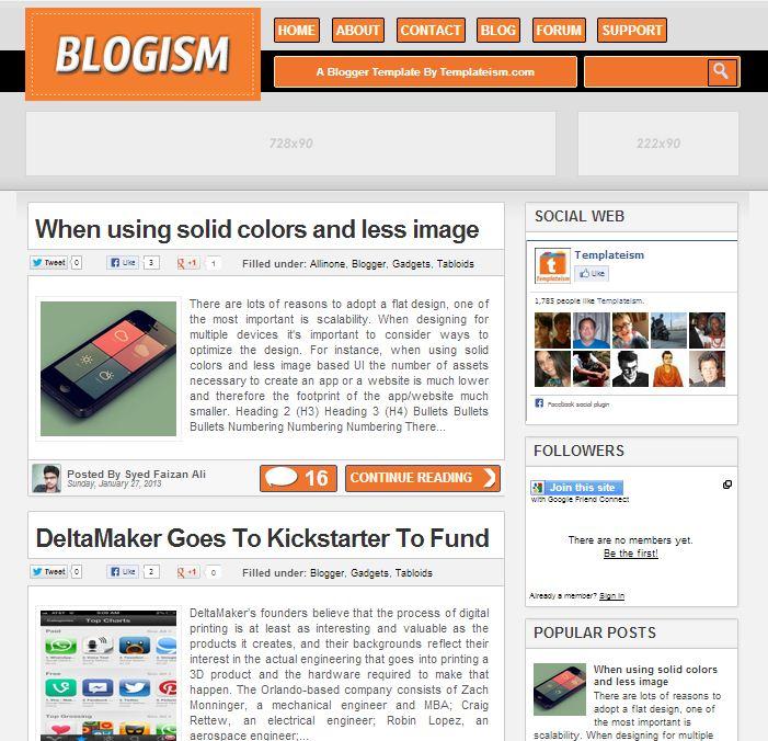 blogism-blogger-template