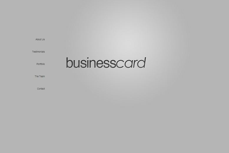BusinessCard WordPress Theme