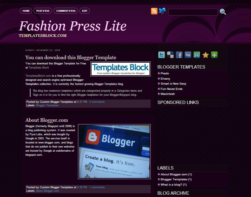 Fashion Press Lite