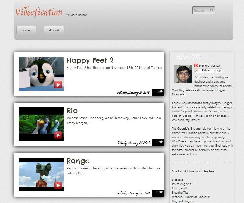 Videofication