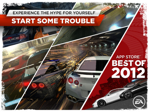 NFS Most Wanted for iPad