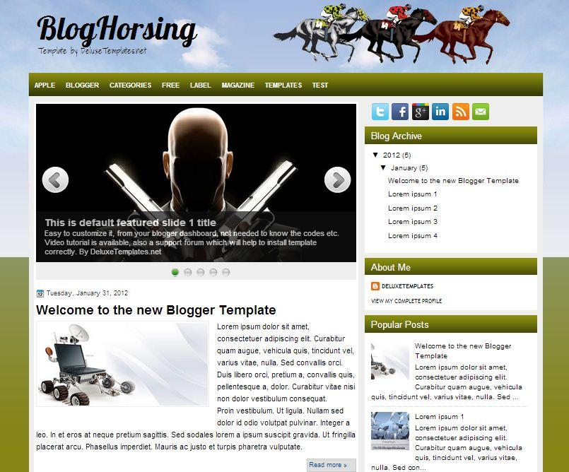 BlogHorsing