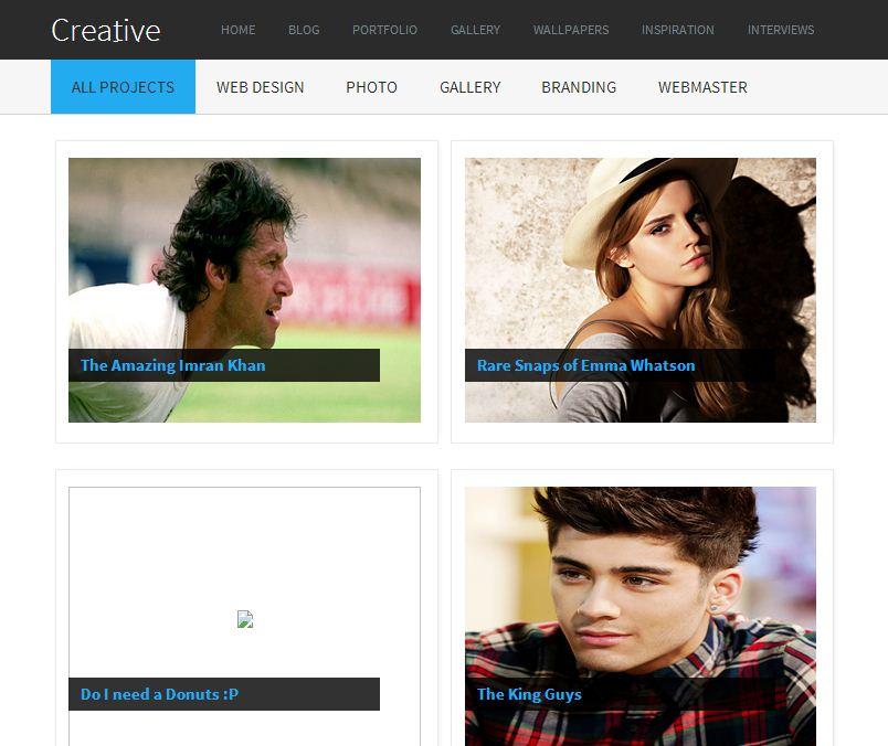creative-gallery-blogger-template