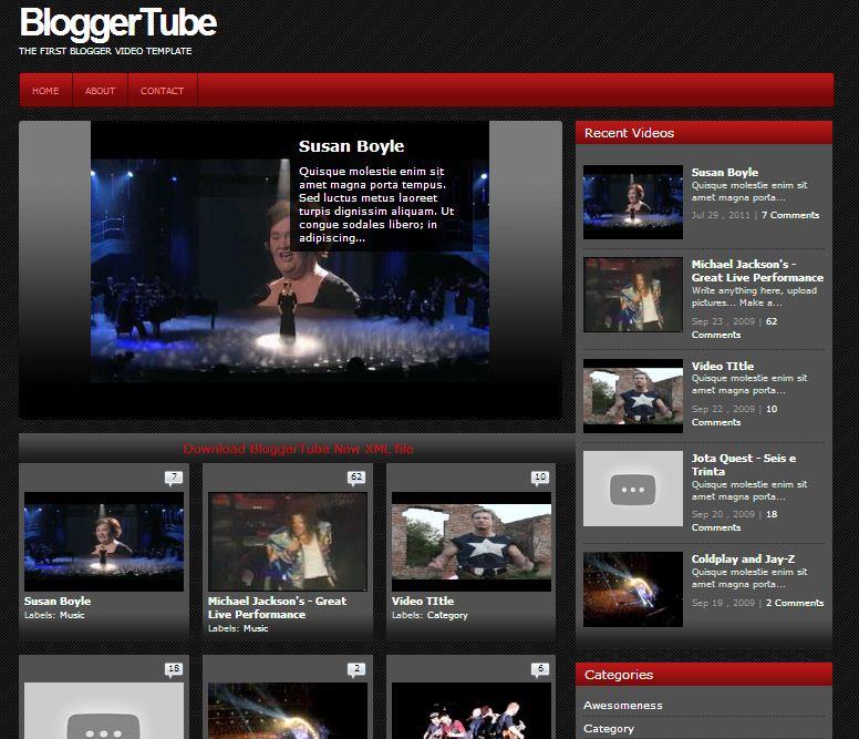 Bloggertube v1