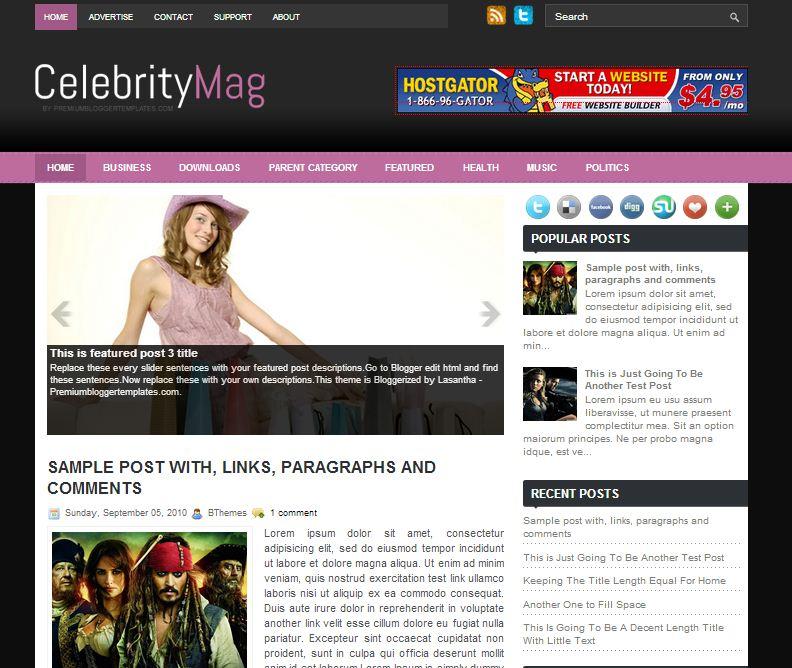 Celebrity Mag