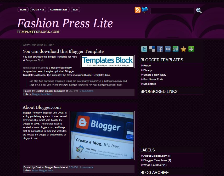 Fashion Press Lite
