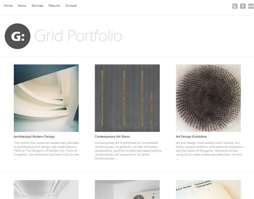 Grid Portfolio