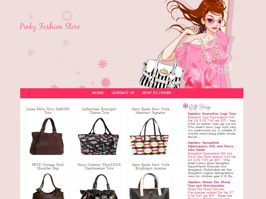 Pinky Fashion Store