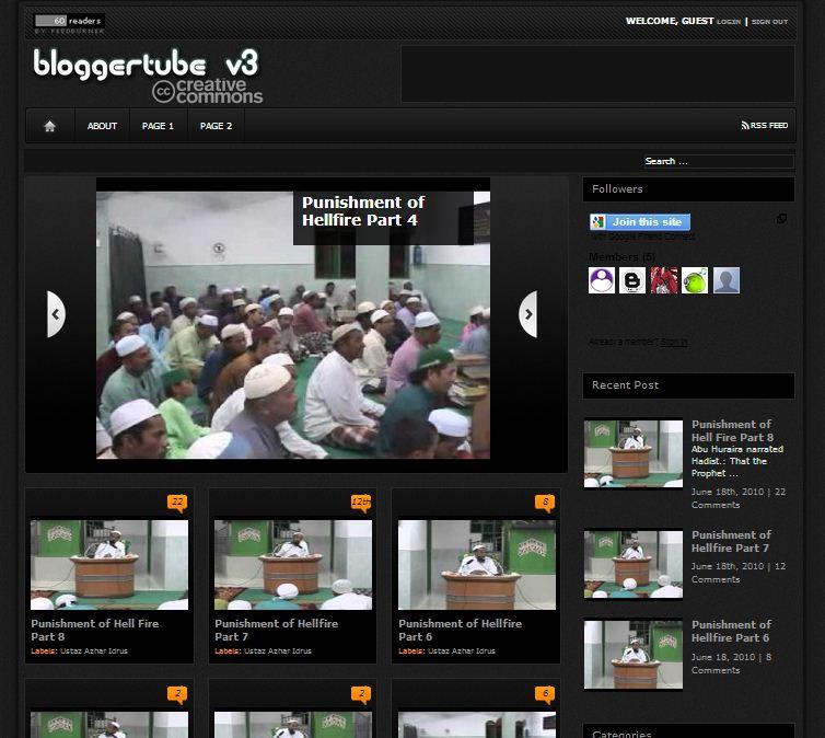 bloggertube v3